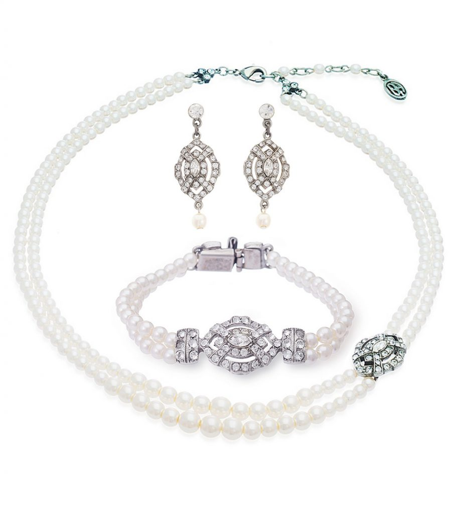 Vintage inspired jewelry - bridal inspiration
